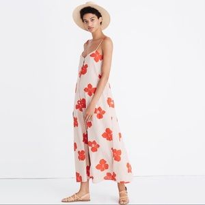 Madewell M Morocco Cover Up Dress Candied Orchids
